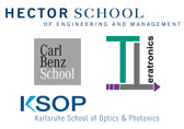 The three schools of the International Department are: HECTOR School of Engineering and Management, Carl Benz School of Engineering, Karlsruhe School of Optics & Photonics