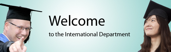 Welcome in the International Department GmbH